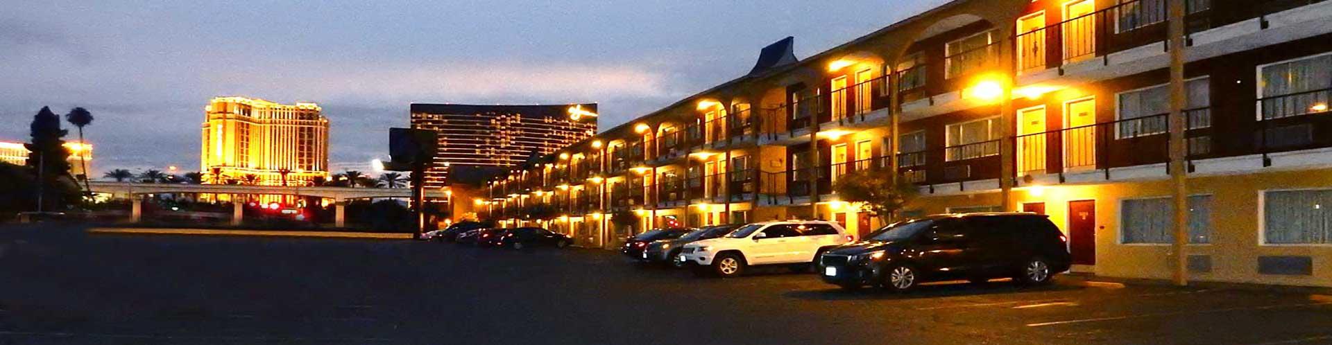 Mardi Gras Hotel & Casino at Night